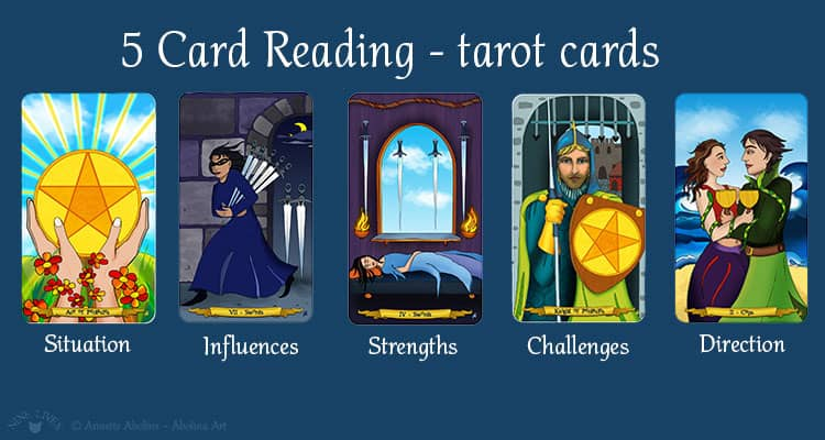 5 card reading - tarot cards